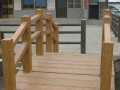 仿木葡萄架 小区栏杆 公园栏杆 校园葡萄架 仿木花箱