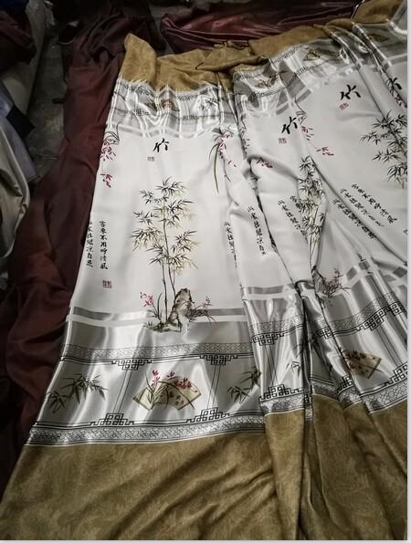 特价装饰窗帘布供应