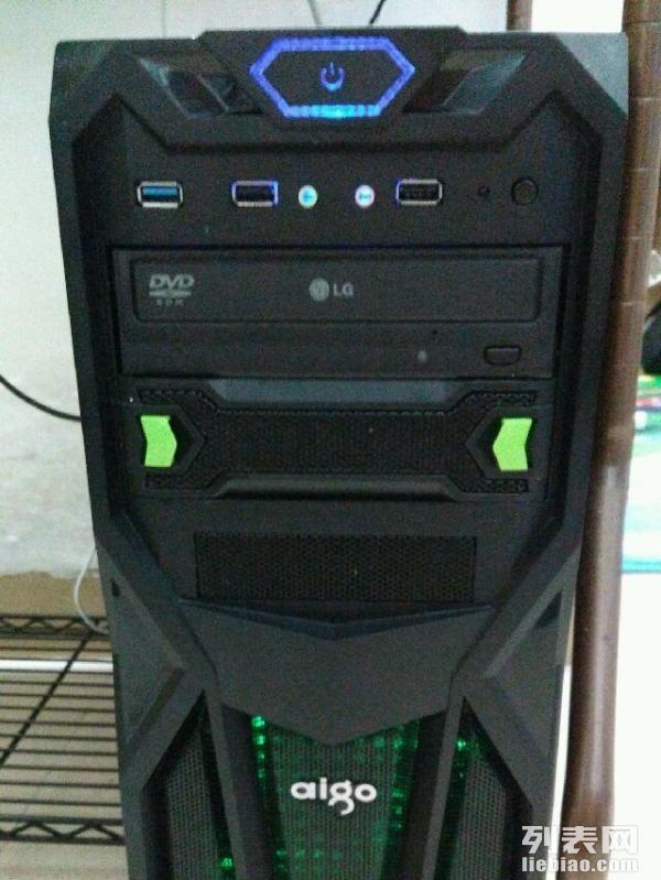 现低价转让。非常新的。只用了几个月,使用效果非常好。忍痛割爱。另赠送键盘,无线鼠标,鼠标垫,耳机,音响。配置都是非常好的,华硕H61主板,I3的处理器,金士顿4G内存,希捷1000G硬盘,日立光驱,爱国者黑暗骑士电源,超频3红海扇热器,爱国者黑暗骑士机箱,冠捷IPS 22寸窄边显示屏。