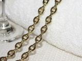 韩版时尚女士包链 浅金小包包五金配件 120厘米长链金属宴会链条