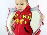 热批包邮2015秋冬款童套装 儿童卫衣三件套 韩版男童女童长袖童