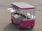 电动小吃车 流动早餐车 快餐烧烤凉菜售货车
