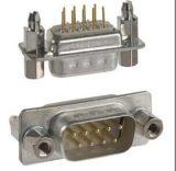 DP9P 公头母头 直插焊板式 DB9 串口9针/9孔