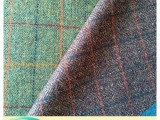 100%羊毛粗纺英伦风面料