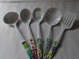 亚男厂家直销蜜胺餐具仿瓷餐具美耐皿产品 勺类