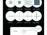 体视显微镜目镜分划板