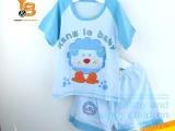 恒美童装 2013精品 婴儿夏季针织棉短
