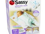 sassy宝宝安全舒适睡眠垫睡枕 婴儿床中床定型枕防翻身吐奶枕