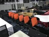 番禺區大石大型二手辦公家具市場,出售-老板臺 辦公員工位