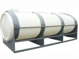 供应优质400升卧式平底PE储罐 塑胶容器 塑料水塔 储水桶