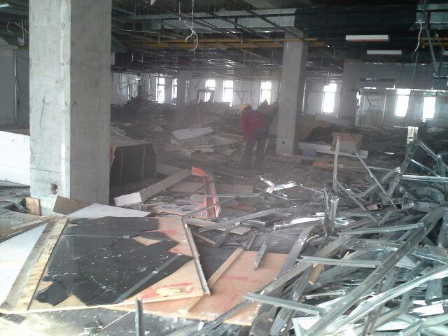 武汉三镇专业装修前拆除,承接大型商场 KTV拆除清运出渣