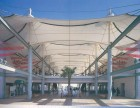 酒店膜结构屋顶-膜结构厂家-膜结构景观棚-商业大厦屋顶膜结构