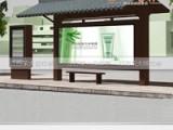 乡镇简易候车亭生产厂家 江苏荣大