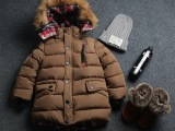 童装男童冬装外套儿童棉衣2014新款潮中大童棉袄男孩宝宝加厚棉服