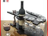 邦伲供应 高档红木葡萄酒架 鳄鱼形实木酒架 P-CI-092