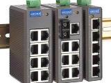 MOXA EDS-208 8口非网管型工业以太网交换机