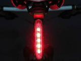 自行车灯 单车灯 安全灯 自行车前灯 5LED 753 自行车尾