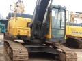 出售进口二手挖掘机-沃尔沃210正宗土方车14年报关