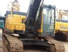 进口沃尔沃210二手挖掘机15年报关-无大修