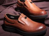 功能男单鞋春新英伦复古头层牛皮 真皮商务按摩除臭皮鞋休闲男鞋