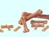 宠物食品 厂家直销 狗咬胶------4--8寸本色压骨
