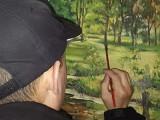 李銅油畫手繪風景油畫