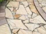 山东优质黄木纹砂岩板材加工