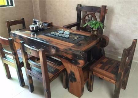 古船木茶台 老船木茶几 相关信息 船木一品家具