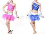 儿童舞蹈服 男女童现代舞 街舞表演服 舞台服装拉丁舞表演服