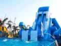 支架水池大型水上冲关闯关鲸鱼岛乐园充气城堡水滑梯