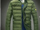 进口高端新款男士休闲羽绒服修身立领时尚潮男式保暖服一件代发