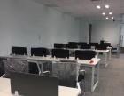 高新区绿地紫峰大厦精装修带家具写字楼出租