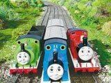 托马斯火车 玩具火车 上链托玛斯 带8节轨道车 地摊货源 玩具批