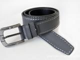 腰带时尚男士真皮腰带 外贸牛皮带 4.0 针扣皮带批发