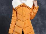新款羽绒服女中长款棉服加厚女式羽绒棉服韩版潮时尚修身棉衣外套