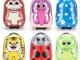 18寸儿童卡通动物造型硬壳旅行箱 幼儿拉杆箱 可爱行李箱登机箱