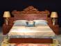 缅甸花梨大床的外表要怎么处理