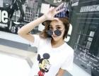 厂家短袖T恤低价批发北京新款春季女装批发那里有适合开店甩货地