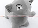 2013上海工厂直批儿童高档加厚PVC充气绒布跳马/鹿/大象礼品