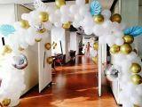 天津周岁生日宴气球布策划