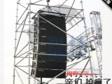 雷亚架线阵音响架 舞台桁架钢铁盘式脚手架灯光架背景架舞台架子