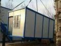 厂家直销彩钢板集装箱活动房 住人集装箱 可租赁