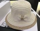 广东奢侈品帽子工厂货源 CHANEL香奈儿太阳帽子