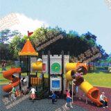 室外游乐园儿童组合滑梯设备该怎么样选购呢