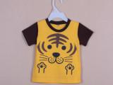 青岛产地童装 外贸原单童装尾货 日单西松屋男童短袖T恤 夏款童装