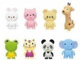 Toyroyal 日本皇室 儿童玩具 软胶搪胶 发声捏响 长颈鹿