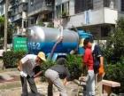 利民专业改杠公司一楼独立下水管道化粪池、排污车