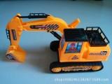 0202厂家直销 仿真大号惯性工程挖掘机玩具 地摊玩具批发淘宝热