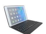 【厂家直销】ipad5代air超薄ABS蓝牙键盘带保护壳