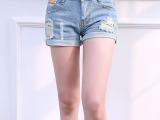 2014夏季新款时尚女装韩版 牛仔 短裤 热裤